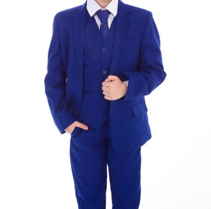 Baby Boys 5 piece electric blue suit £50 0-3/3-6/6-9/9-12/12-18/18-24 months 2 3 years