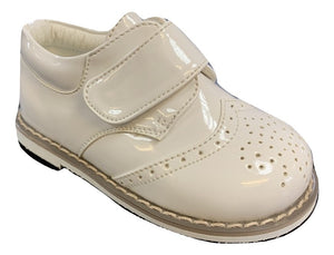 Baby boys early steps white brogue derby shoes £23 Infant 1/2/3/4/5/6/7/8/9/10 £23