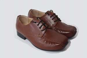 Boys Brown smart tie up shoes infant 3/4/5/6/7/8/9/10/11/12/13 Junior 1/2/3 £25