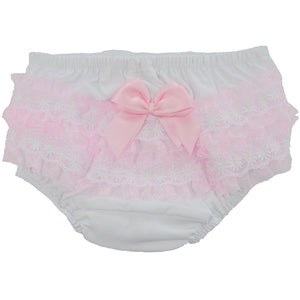 Baby Girls Cotton pink Pants newborn to 18 months £7