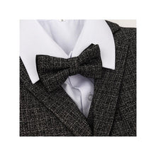 Boys Grey Check print 5 piece bow tie suit 1 - 15 years £65