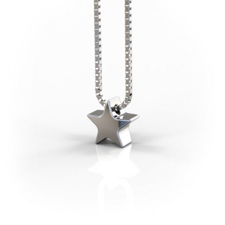 Tiny Star Silver Necklace