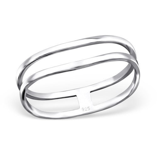 Sweet Bridge Silver Ring