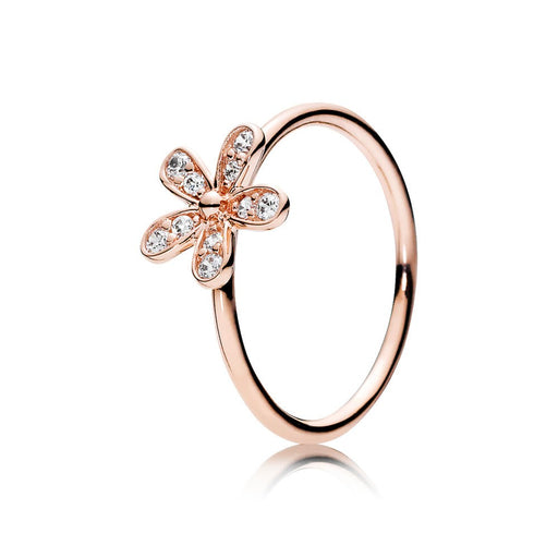 Sweet Daisy Silver Ring