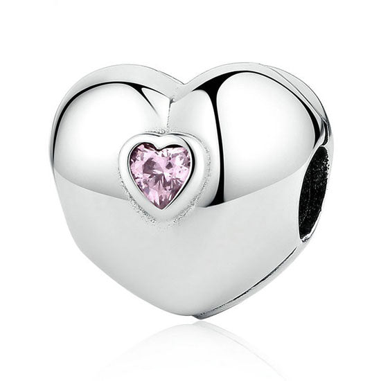 Sweet Love Heart Clip Charm