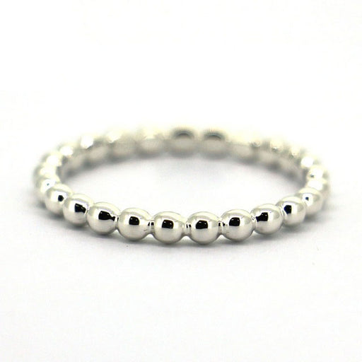 Silver 'Dot' Stacking Ring