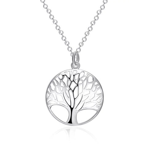 Tree of Life Curved Necklace