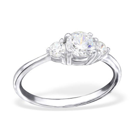 Classic 3 Stone Ring