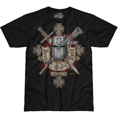 'Deus Vult' (God Wills It) 7.62 Design Premium Men's T-Shirt