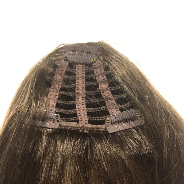 I&K Clip in Fringe - Bangs - 5