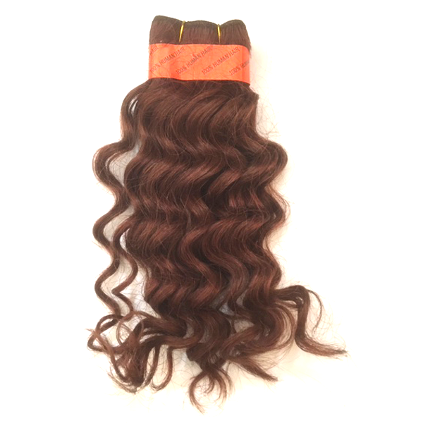 "LA Trend Human Hair Wet and Wavy French Weft 10"" - 350"