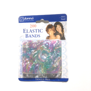 Elastic Bands - Pastel 200pc