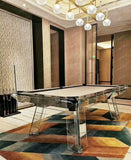 Berlin Glass Designer Pool Table