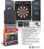 Electronic Dartboard with Cabinet