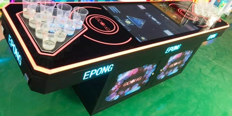 EPONG Electronic Beer Pong Table Arcade Machine