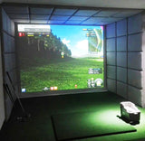 Indoor Golf Simulator + Home theater +KTV