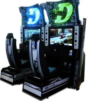 Initial D Arcade Racing Machine