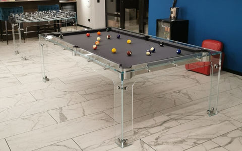 Carat Glass Pool Table Hong Kong