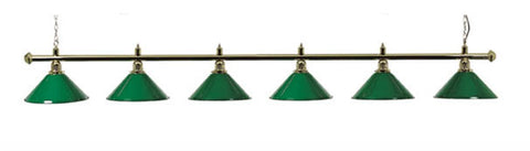 Snooker | 6 Lamp Lighting BR6G
