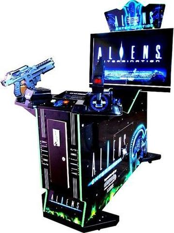 ALIENS SHOOTER ARCADE MACHINE