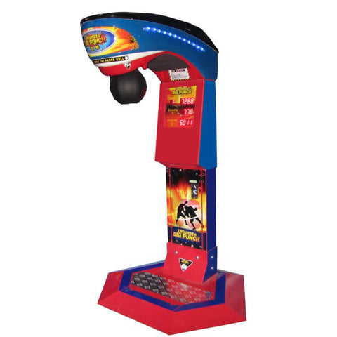 NEW BOXING ARCADE MACHINE (DISPENSE CAN DRINK WHEN HIT HIGH SCORE)