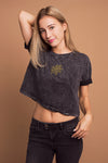ROSE Crop Top Silver