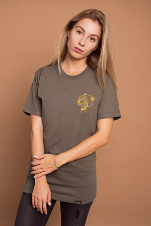 PANTHER Tee Olive
