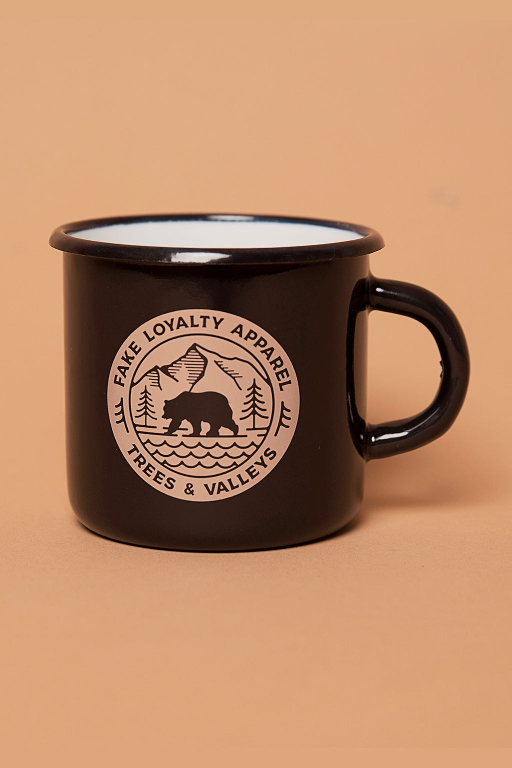 VALLEYS Enamel Mug