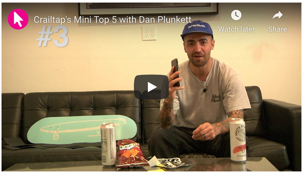 Mini Top 5: Dan Plunkett