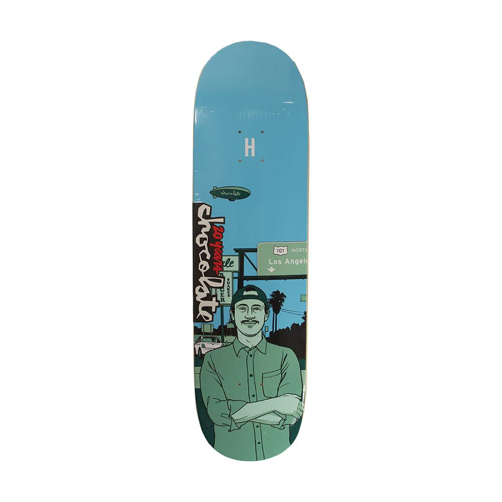 Chocolate Skateboards 20 Years Elijah Berle City Series Deck 8.5 Shape G022