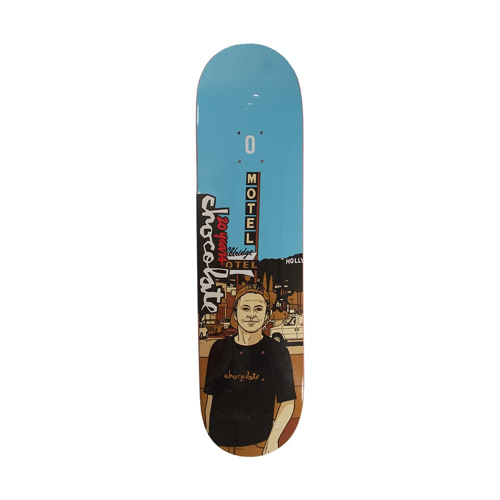Chocolate Skateboards 20 Years Justin Eldridge City Series Deck 8.0 Shape G008