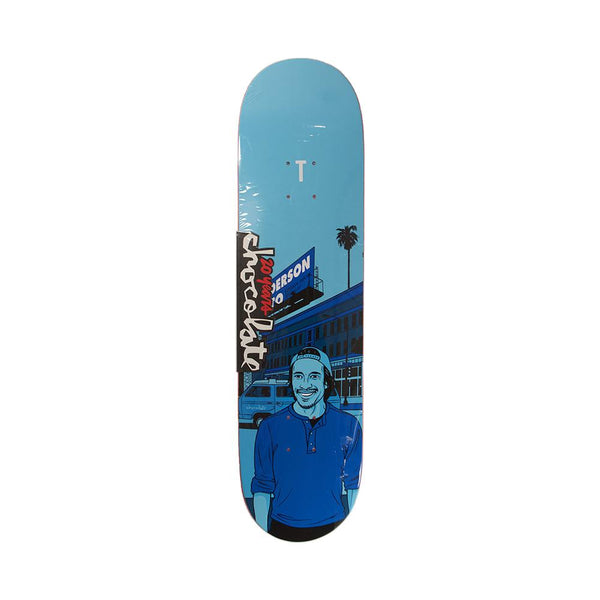 Chocolate Skateboards 20 Years Kenny Anderson City Series Deck 8.125