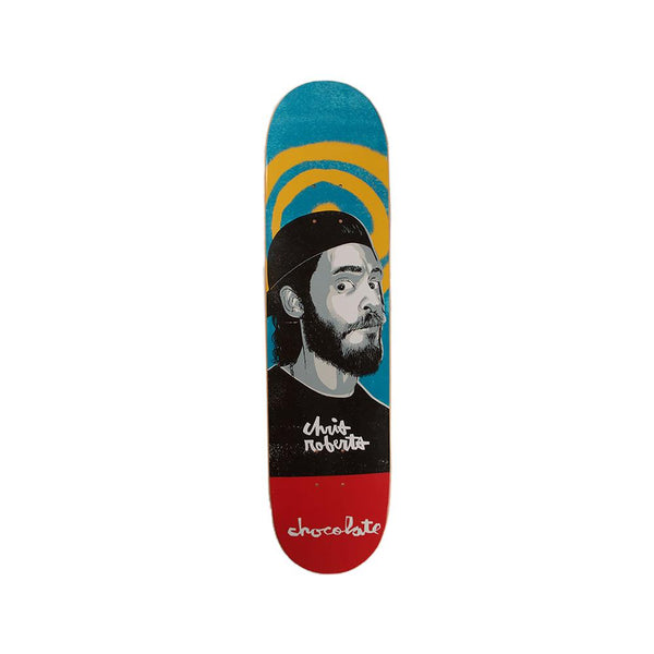 Chocolate Skateboards Chris Roberts Face Deck 7.63