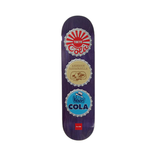 Chocolate Skateboards Kenny Anderson Cola Bottle Caps Deck 8.13