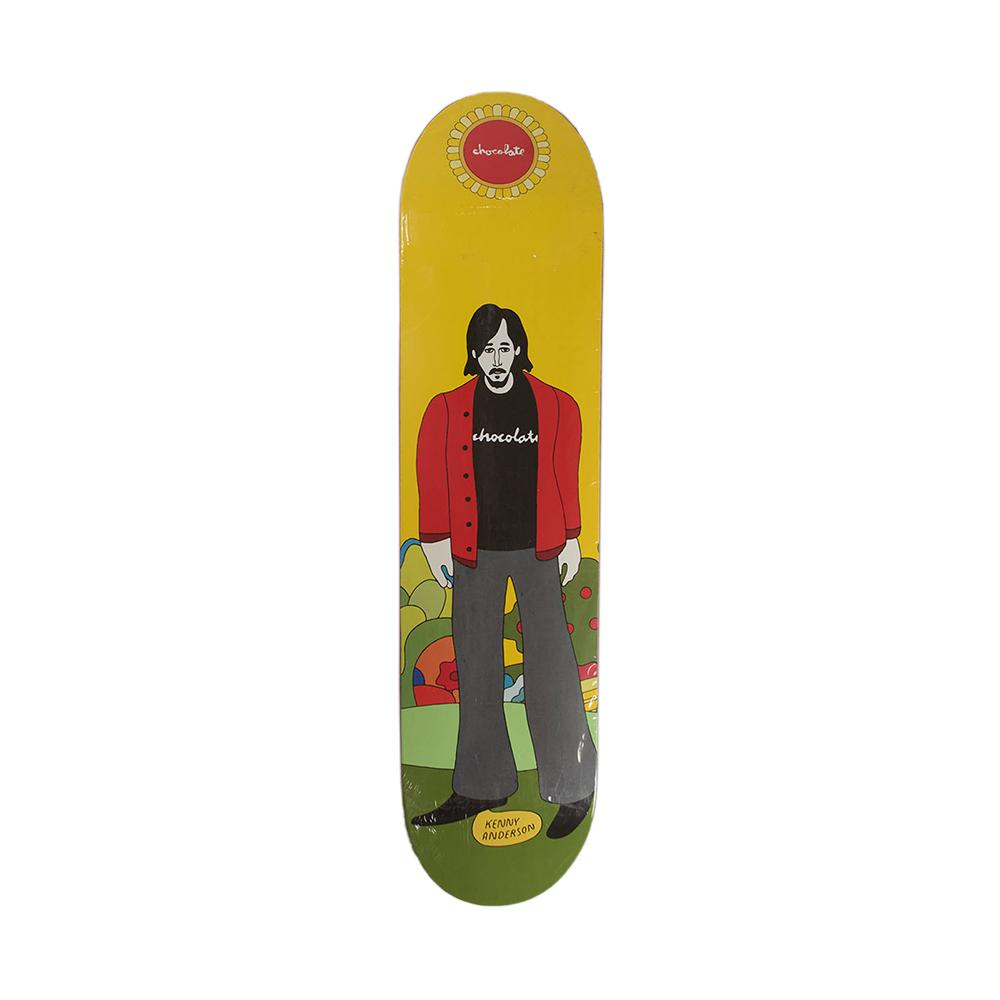 Chocolate Skateboards Kenny Anderson Yellow Submarine Deck 7.5
