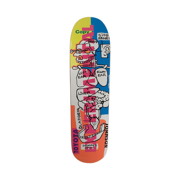 Chocolate Skateboards Rudy Johnson Toyota Deck 8.25