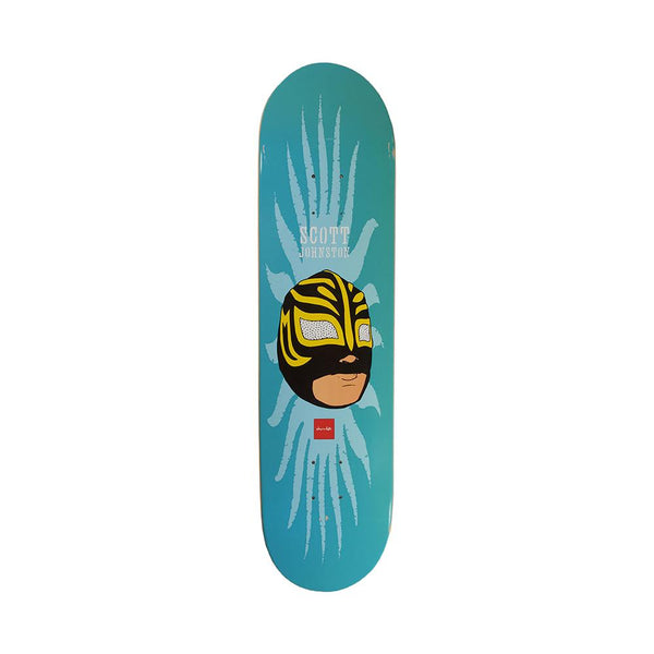 Chocolate Skateboards Scott Johnston Mask Deck 8.1