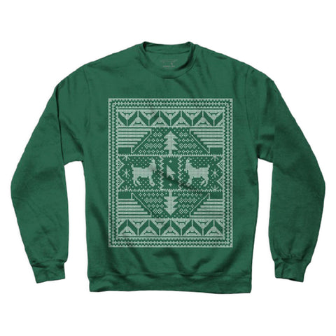 Crailmas Sweater - Dark Green