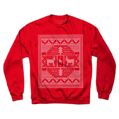 Crailmas Sweater - Red