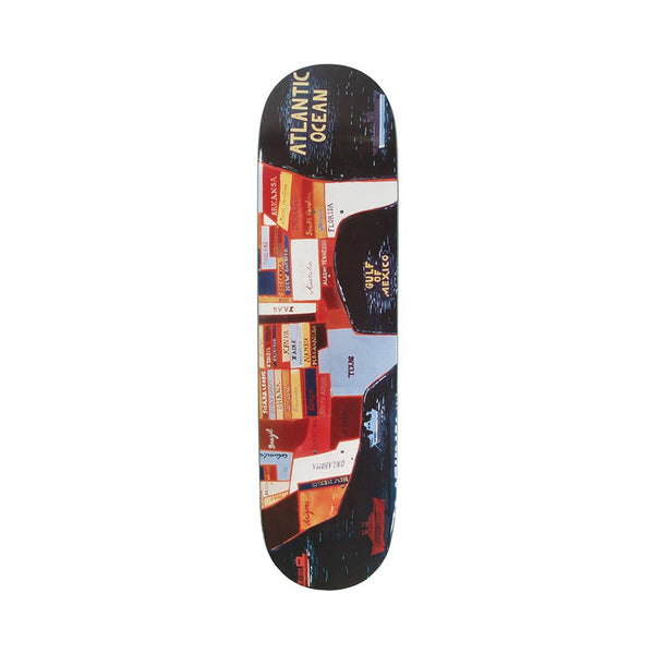 Girl Skateboards U.S. World Studies 8.25 - Jules De Balincourt Shape G027