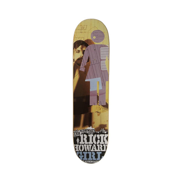 Girl Skateboards Rick Howard Pedro Sideways Deck 7.75