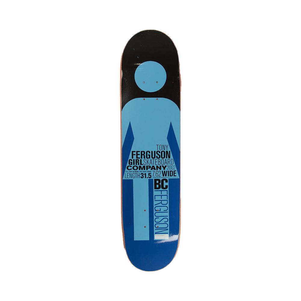 Girl Skateboards Tony Ferguson Giant OG 2002 Series Deck 7.62