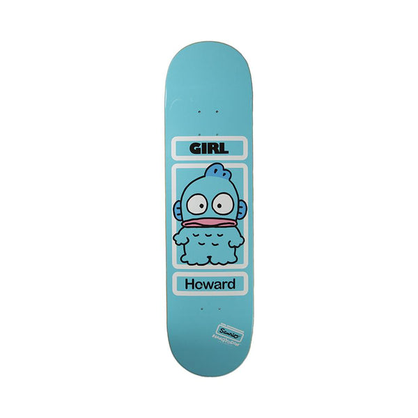 Girl Skateboards x Sanrio 50 Year Rick Howard Hangyodon Deck 8.25