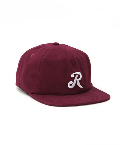 The Royal Initial Snapback - Maroon