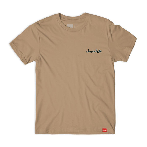 chocolate premiumchunkemb mens tan tee spike jonez