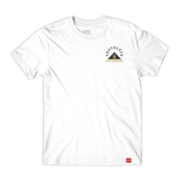 chocolate secretsociety mens white tee spike jonez