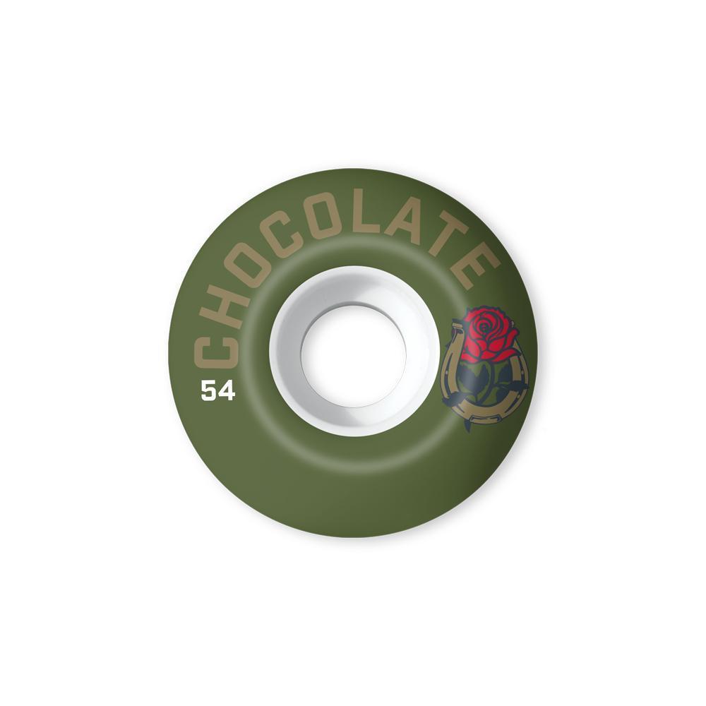 chocolate skateboard luchadore staple 54MM wheels spike jonez