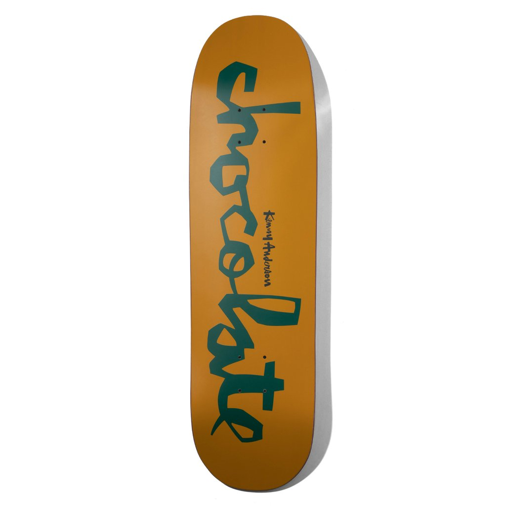 chocolate skateboards anderson ogchunk skidul 8.5 deck spike jonez