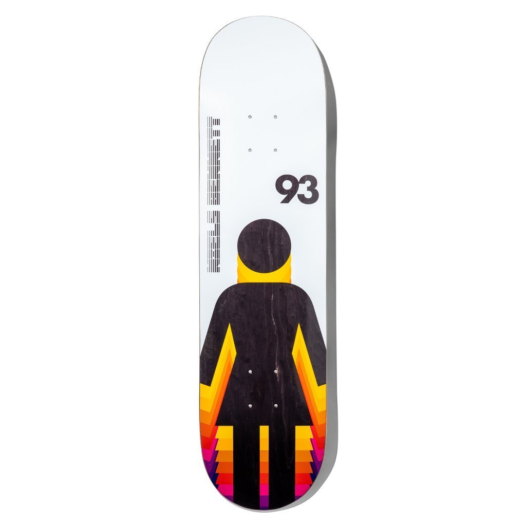 girl skateboard bennett futureog 8.25 deck spike jonez