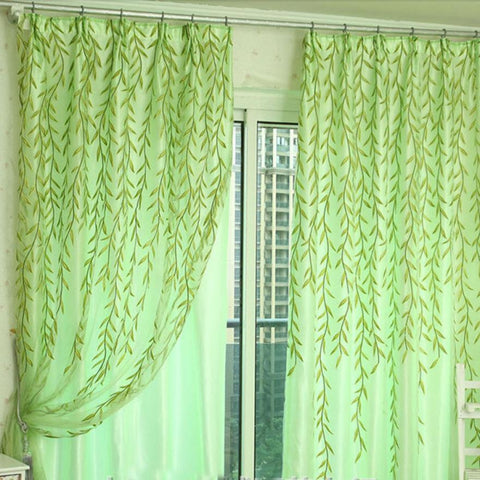 Tulle Door Window Curtain Drape Panel